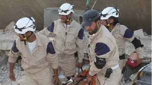 White Helmets Rescuers In Syria May Need Rescuing Themselves [Video]