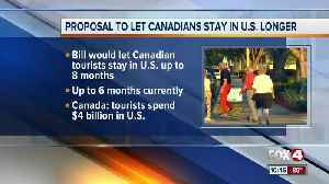 Canadians may be allowed to stay in the U.S. longer [Video]