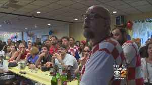 Soccer Fans Pack North Side's Croatian National Hall For World Cup [Video]