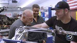 'American Chopper' Team Restore Yankees Motorcycle They Put Together Years Ago (Exclusive) [Video]