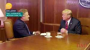 In an TV Interview, Trump Said the Queen Called Brexit A