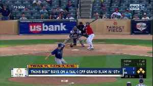 Brian Dozier's grand slam in 10th inning gives Minnesota Twins 11-7 win over Tampa Bay Rays [Video]