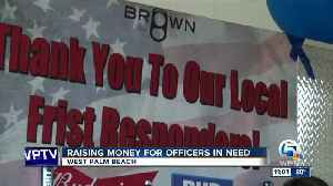 Fundraiser held for West Palm Beach officers [Video]