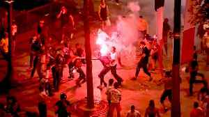 French Football Fans Riot Over World Cup [Video]
