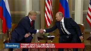 Trump Shakes Hands With Putin at Helsinki Summit [Video]