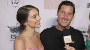 Val Chmerkovskiy Reveals How His Surprise Proposal to Jenna Johnson Almost Got Ruined! (Exclusive) [Video]