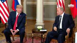 Trump Says He Hopes To Have An 'Extraordinary Relationship' With Putin [Video]