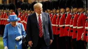 What Faux Pas Did Trump Make When Meeting The Queen? [Video]