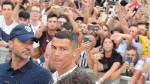 Ronaldo Arrives In Italy [Video]