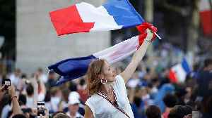 French football fans react to World Cup Win [Video]