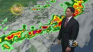 Midday Weather Update: Cold Front Sweeps Through Tuesday [Video]