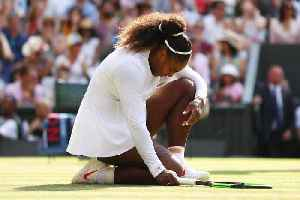 News video: Serena Williams Reacts to Wimbledon Loss