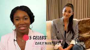 Venus Williams, Shay Mitchell, and Other Celebs Reveal the Mantras They Tell Themselves Whenever They're Feeling Down [Video]
