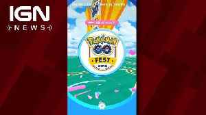 More Than 20,000 People Attended Pokemon Go Fest 2018 [Video]