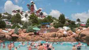News video: Man dies after heart attack at Disney water park