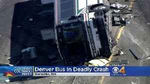 Denver Bus In Deadly Crash In New Mexico [Video]