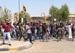 Demonstrators in Kut Chant for Peaceful Protests, Better Services [Video]