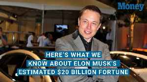 Here's What We Know About Elon Musk's Estimated $20 Billion Fortune [Video]
