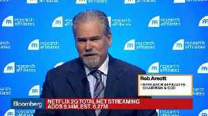 Netflix Troubles May Have Ripple Effects, Research Affiliates CEO Says [Video]