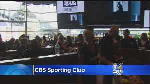 'CBS Sporting Club' Opens At Patriot Place [Video]