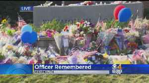 Community Mourns Slain Weymouth Police Officer [Video]