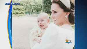 Trending: New Christening Photos Of Prince Louis Released [Video]
