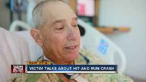 Man left for dead after Davenport hit-and-run [Video]