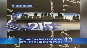 Pennsylvania Company Makes Custom Bats For Rhys Hoskins For Home Run Derby [Video]