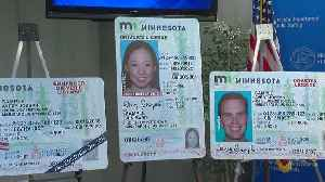 A Look At The New Minnesota Driver's License Designs [Video]