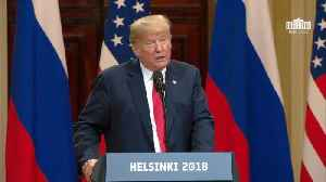 News video: Trump's Opening Comments In Helsinki