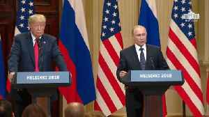 News video: Putin And Trump Turn Syria Conflict Concerns Into Humanitarian Help Talk