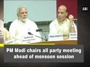 News video: PM Modi chairs all party meeting ahead of monsoon session