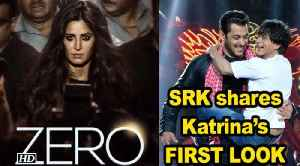 """Katrina's Intense FIRST LOOK from """"ZERO"""", SRK shares it on her B'day [Video]"""