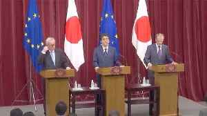 EU and Japan sign FTA in counterweight to Trump policies [Video]