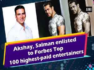 Akshay, Salman enlisted to Forbes Top 100 highest-paid entertainers [Video]
