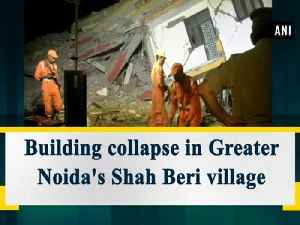 Greater Noida building collapse: Our priority right now is to save life'S, says Mahesh Sharma [Video]