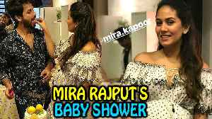 Shahid Kapoor Wife Mira Rajput BABY SHOWER INSIDE Pictures [Video]