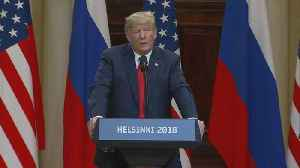 Trump a near-solitary figure after stunning rebuke of Russian election meddling [Video]