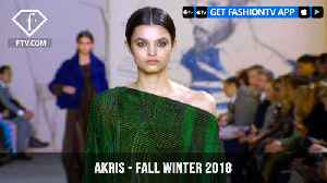 Akris Fall/Winter 2018 Handsome and Polished Collection at Paris Fashion Week   FashionTV   FTV [Video]