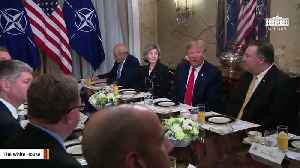 Trump: NATO Is 'Strong Again' 'Because Of Me' [Video]