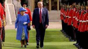 Did Queen Elizabeth Send a Hidden Message to President Trump With Her Jewelry? [Video]