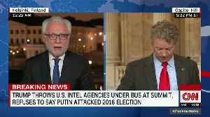 Blitzer Tries To BULLY Rand Paul In Tense Exchange Over Trump [Video]
