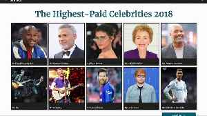 Boxer Floyd Mayweather, George Clooney lead world's highest paid entertainers [Video]