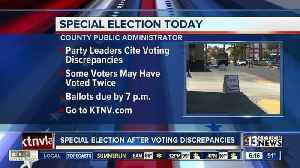 Special election taking place today [Video]