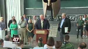 Engler selects new MSU athletic director [Video]
