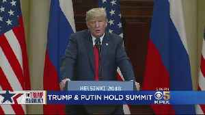 President Trump Blasted For Performance At Helsinki Press Conference [Video]