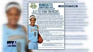 Letter: Marquette women's basketball player in need of kidney transplant [Video]