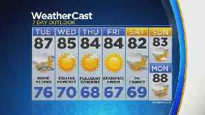 Strong Chance For Storms On Tuesday [Video]