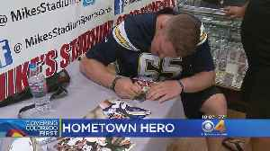 'My Village Is Massive': Former CSU Ram Now Signing Autographs [Video]