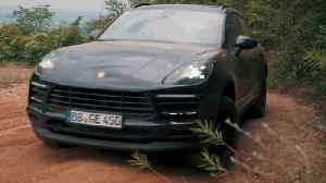 The new Porsche Macan in high-altitude training [Video]